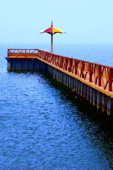 Free Jetty View To Ocean Royalty Free Stock Photo - 6444575