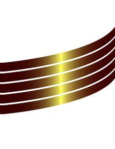 Gold Design Element Stock Image