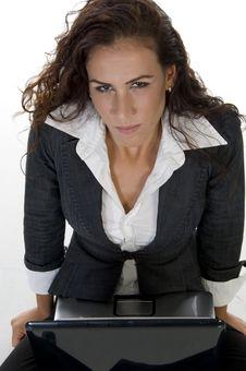 Free Lady Looking Upward Stock Photo - 6444810