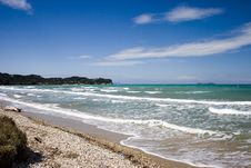 Free Corfu Island Wild Beach Stock Photos - 6444933