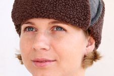 Free Young Woman Wearing Cap Stock Photos - 6444943