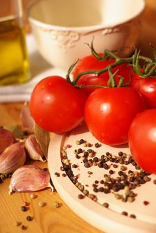 Free Tomatoes Royalty Free Stock Image - 6445166