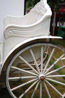 Free Horse Driven Cab.-cartwheel Royalty Free Stock Photography - 6445607