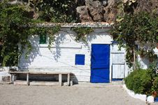 Beach Hut ( Spain ) Stock Photography