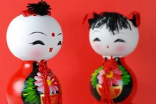 Free Chinese Dolls Stock Photography - 6445822