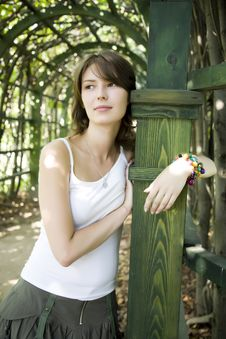 Free Woman In The Park Stock Photos - 6446203