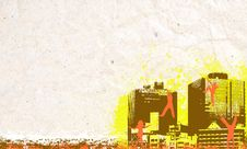 Free City Background Stock Images - 6446234