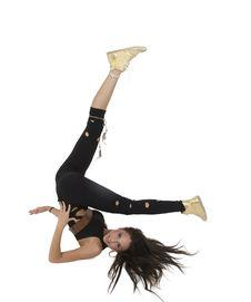 Free Exercising Glamorous Lady Royalty Free Stock Image - 6446236