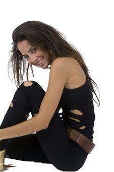 Free Glamorous Pose Of Female Royalty Free Stock Photography - 6446237