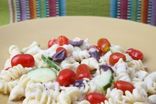Free Pasta Salad Royalty Free Stock Photography - 6446427