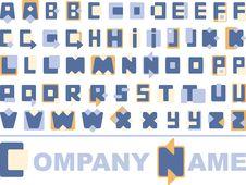 Alphabetical Logo Stock Photos