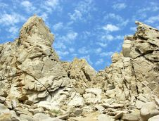Mexican Rocks Stock Image