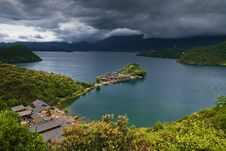 Free Lugu Lake Royalty Free Stock Photography - 6447697