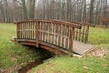 Free Wooden Bridge Stock Photos - 6448223