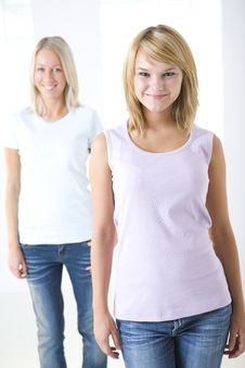 Free Two Young Woman Royalty Free Stock Photo - 6448555