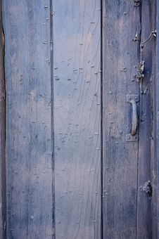 Free Rustic Wooden Door Royalty Free Stock Photography - 6448657