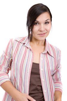 Free Happy Woman Royalty Free Stock Image - 6448996