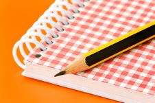 Free Pencil And Notebook Stock Photos - 6449203