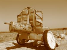 Old Tank Stock Images
