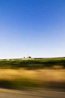 Free Crossing Countryside At High Speed Stock Photography - 6449462