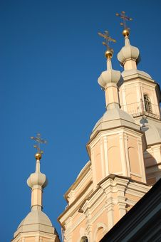 Free Russian Orthodox Church. Royalty Free Stock Photography - 6449667