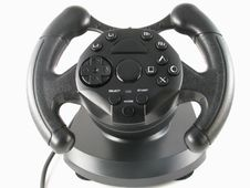 Free Steering Wheel Royalty Free Stock Photo - 6449825