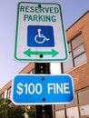 Free Handicap Sign Stock Photos - 6451713
