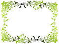 Free Abstract Floral Frame Royalty Free Stock Image - 6454586