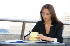 Free Business Woman Royalty Free Stock Photography - 6450397