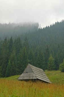 Free Mountain Hut Stock Photography - 6450402