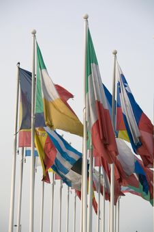 Free Euro Flags Stock Photography - 6450692