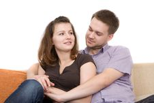 Free Loving Couple Royalty Free Stock Image - 6451066