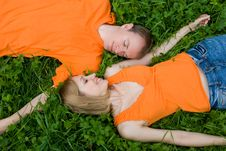 Free Loving Couple Royalty Free Stock Photos - 6451078