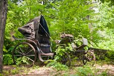 Free Old Carriage Stock Photography - 6451142