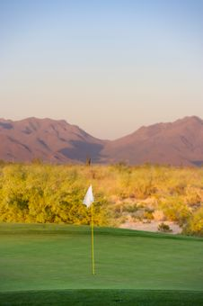 Free Golf Course In The Arizona Desert Royalty Free Stock Photo - 6451555