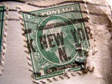 Free Old Stamp Stock Photos - 6451683