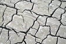 Free Cracked Earth Background Stock Photography - 6451732