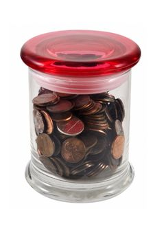 Free Pennies In Jar Stock Photography - 6451952