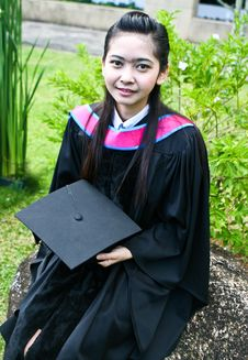 Free University Graduates Stock Photo - 6452400