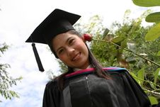 Asian University Graduate Stock Photos