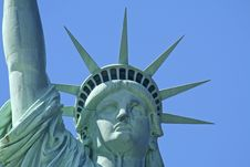 Free Statue Of Liberty Royalty Free Stock Photo - 6452695
