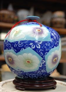 Free China Vase Stock Photos - 6453423