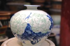 Free China Vase Royalty Free Stock Photography - 6453427