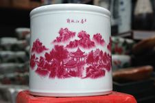 Free China Vase Royalty Free Stock Photography - 6453507
