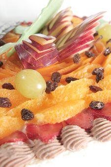 Free Fruit Cake Royalty Free Stock Photography - 6453917