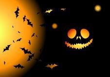 Free Halloween Night Background Stock Photo - 6454430
