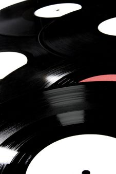 Free Background Of Vinyl Records Royalty Free Stock Photo - 6454805
