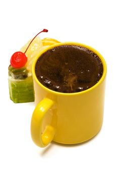 Coffee And Dessert Stock Photos