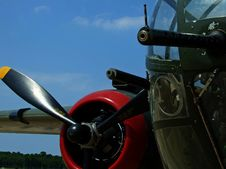 Free World War II Vintage Aircraft Stock Photography - 6455022