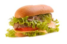 Free Big Hamburger Stock Image - 6455531